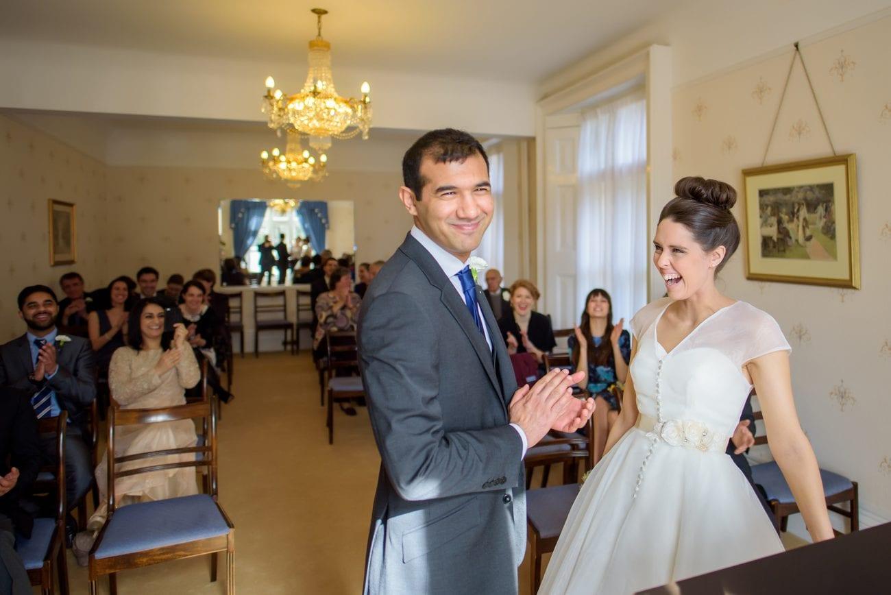 Artington house wedding photographer