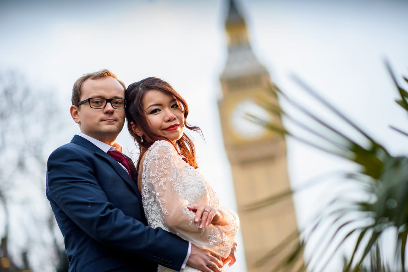 Big ben wedding photography