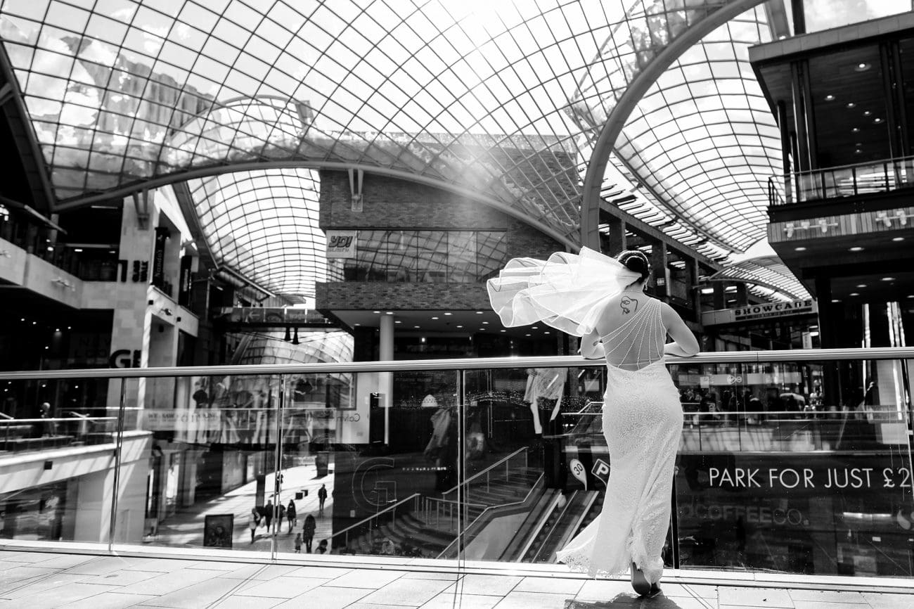 Cabot circus bristol wedding photographer