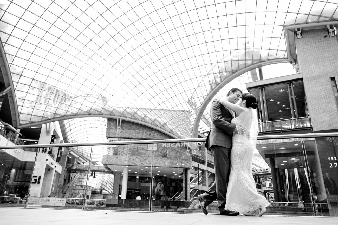 Cabot circus bristol wedding photography