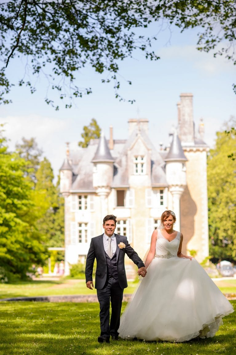 Chateau st julien poitiers wedding photographer