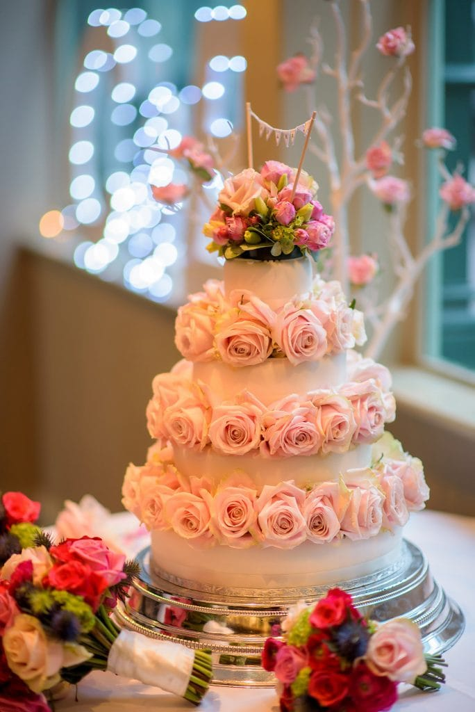 Chiswell street dining rooms wedding cake