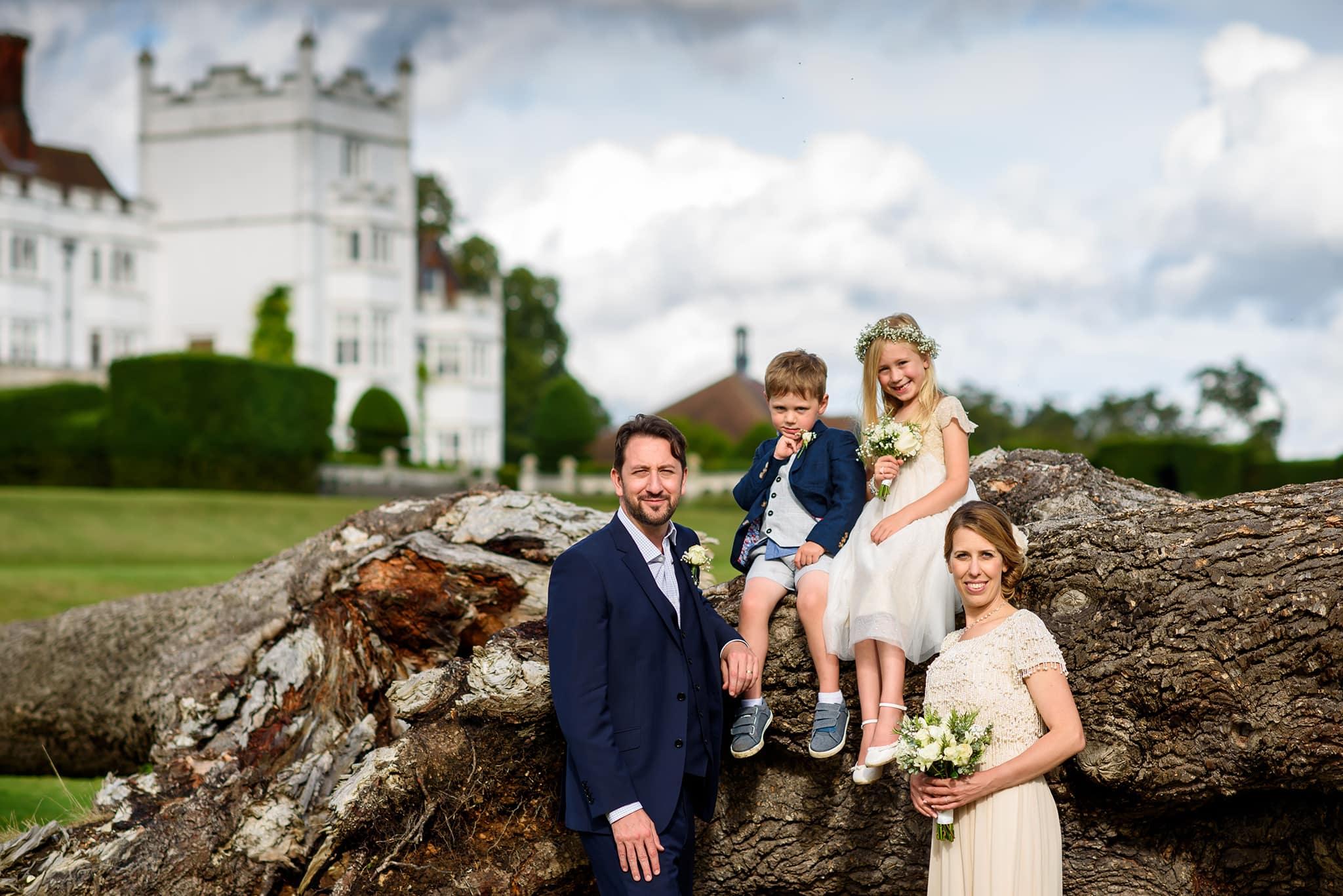 Danesfield house wedding photography