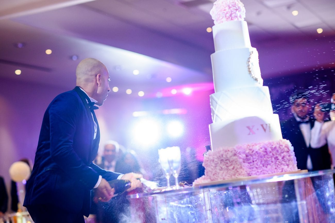 De vere beaumont estate wedding cake