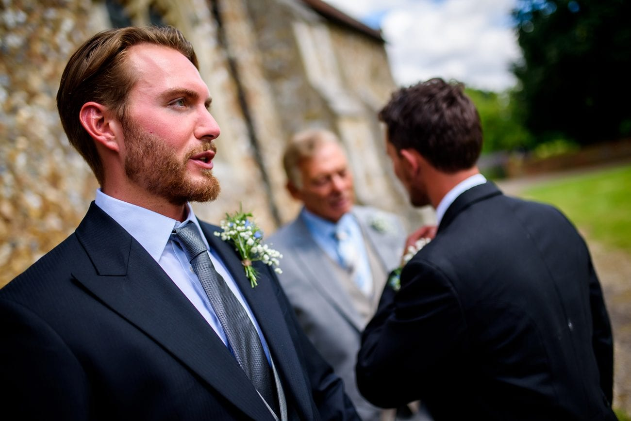 Wimbish Parish Church wedding photographer