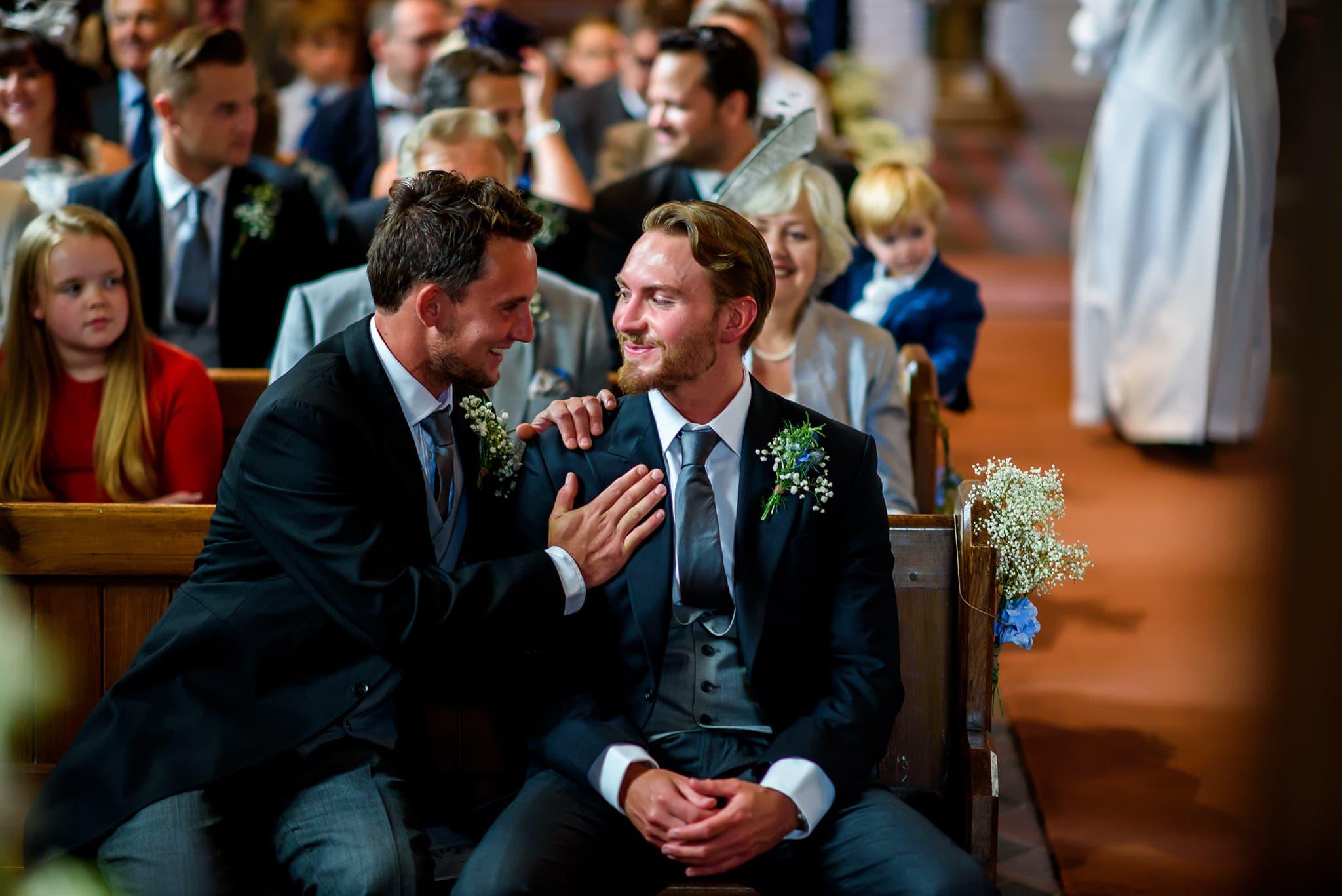 Debden church wedding photographer