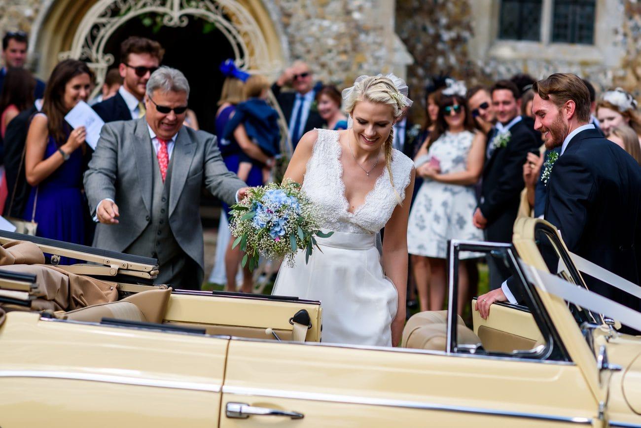 Wimbish Parish church wedding photography