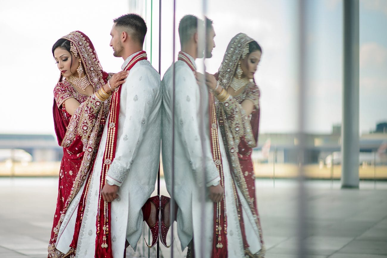 East london muslim Wedding couple portraits