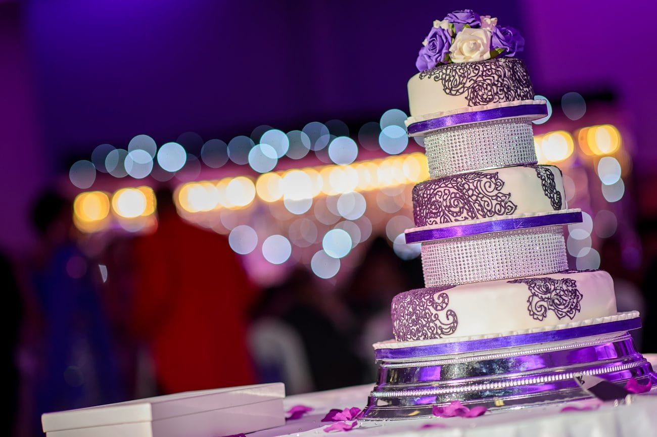 Edgbaston wedding cake