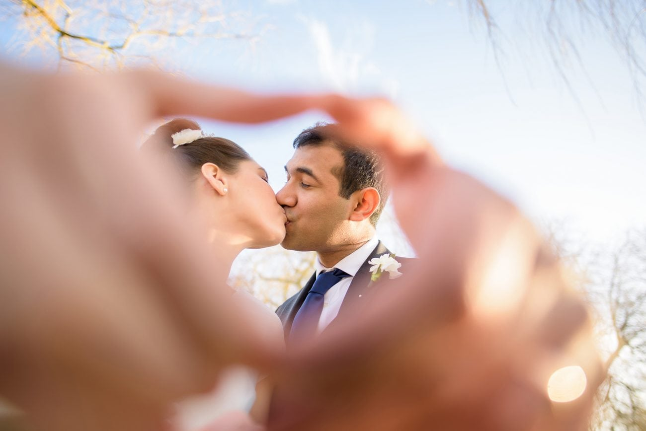 Godalming bride groom portraits