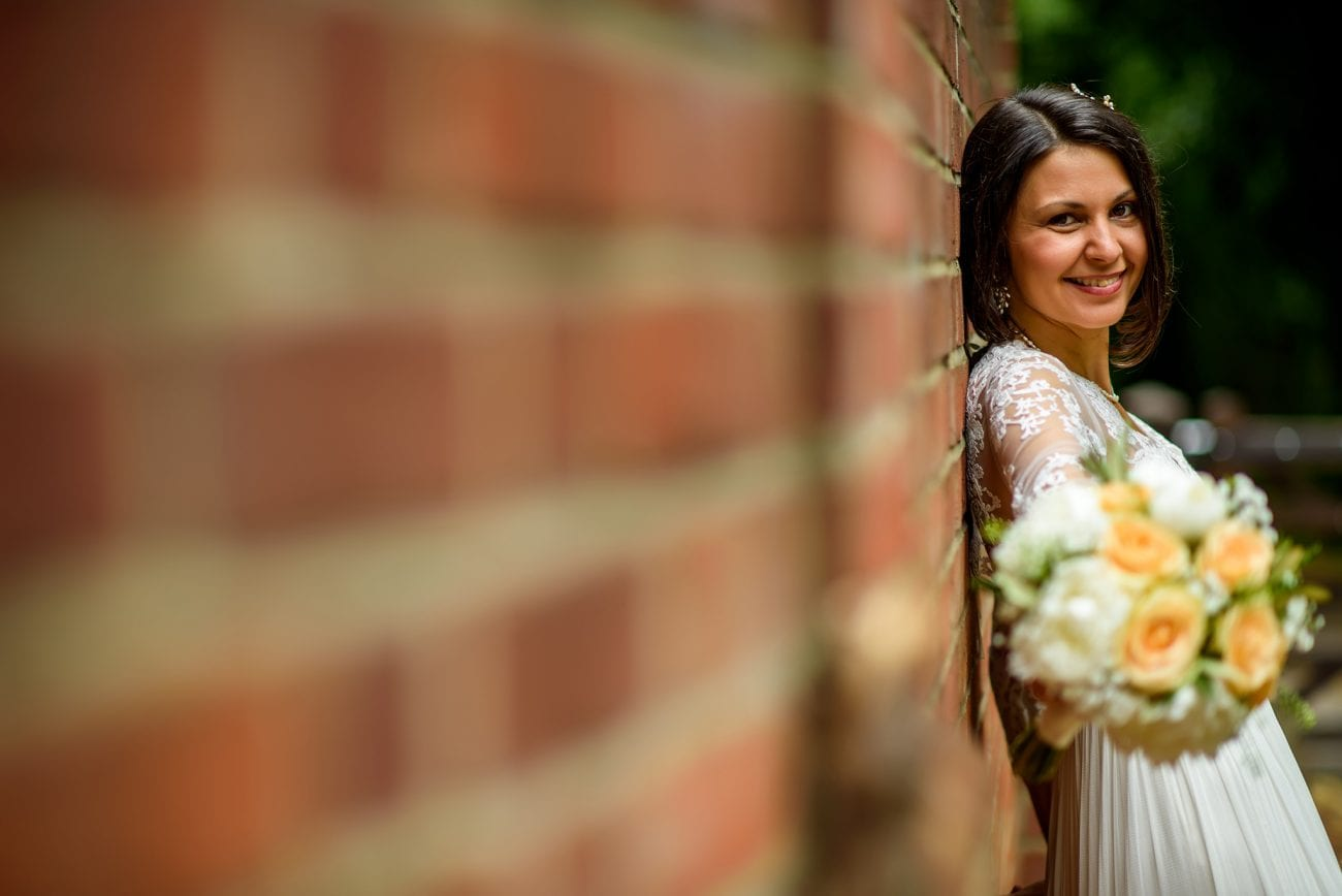 Hampstead pergola bride groom portraits