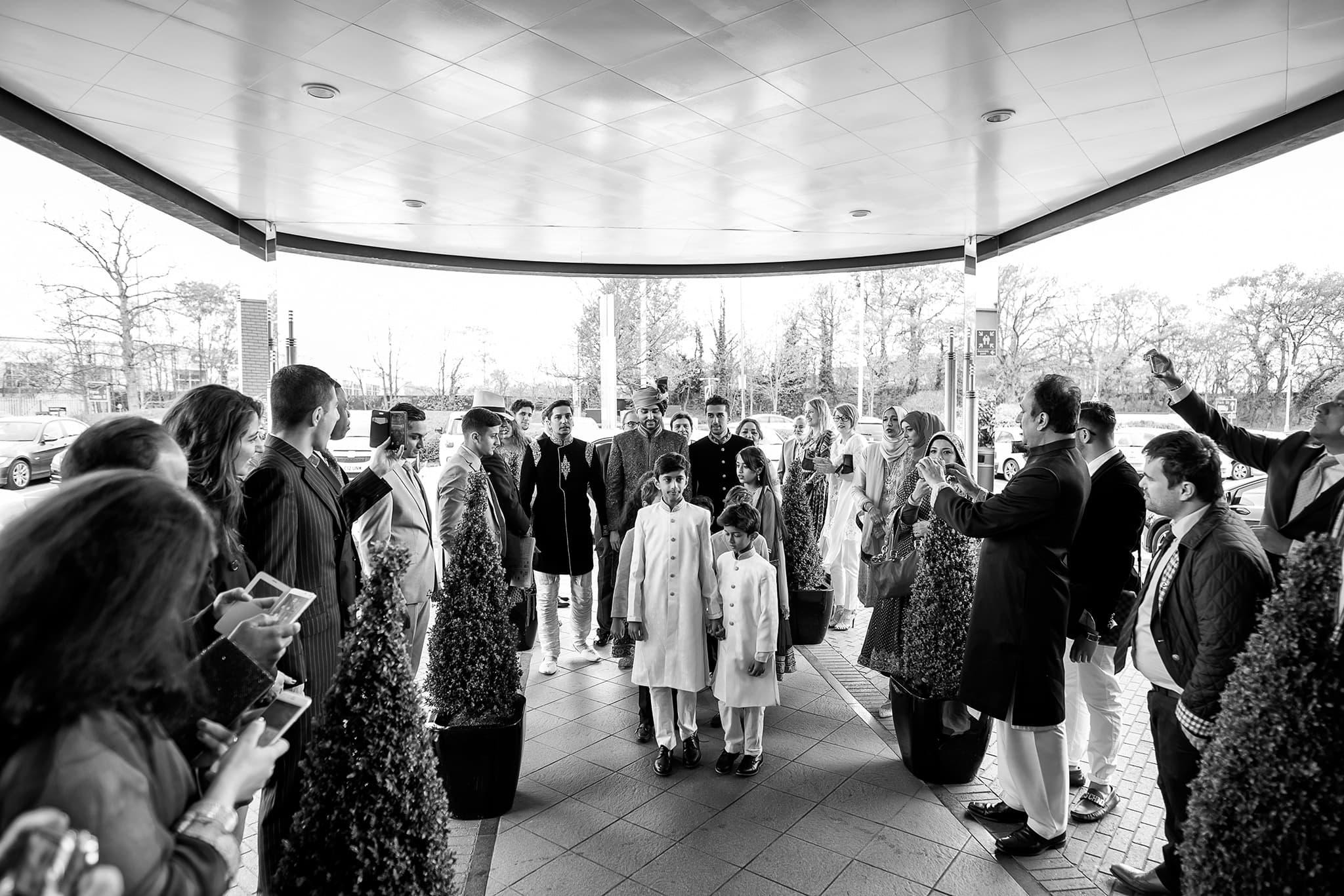 Hilton hotel watford wedding photographer