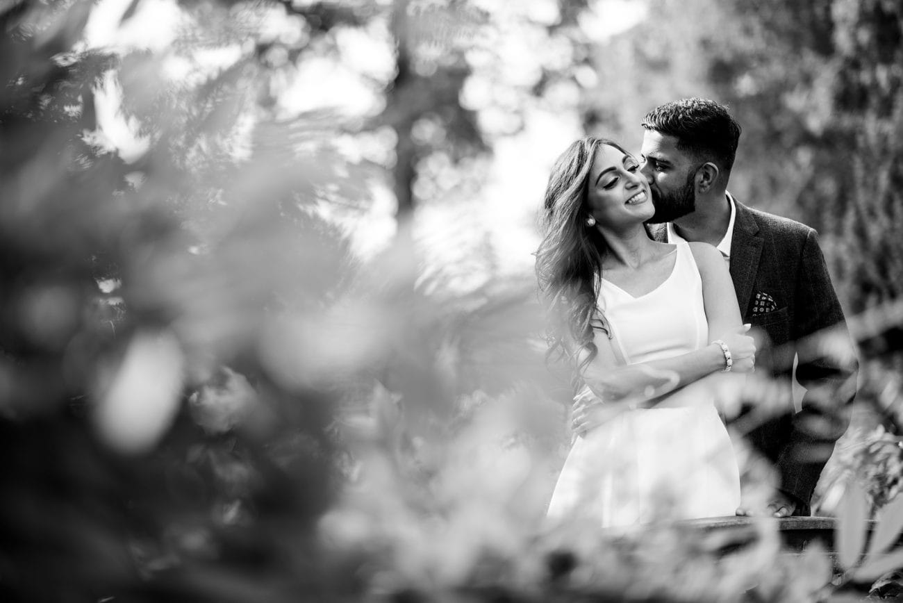 Holland park couple portraits