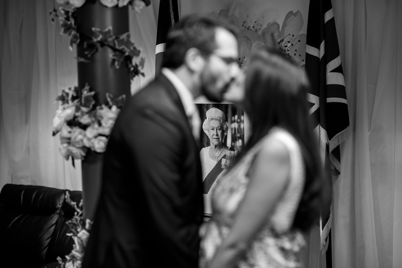 Lambeth register wedding photographer