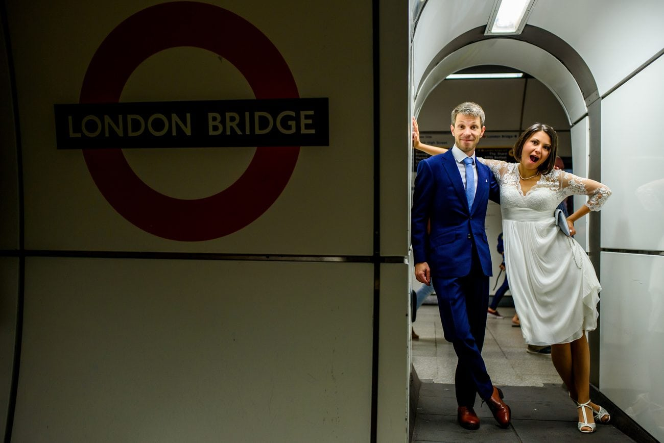 London bridge wedding photographer