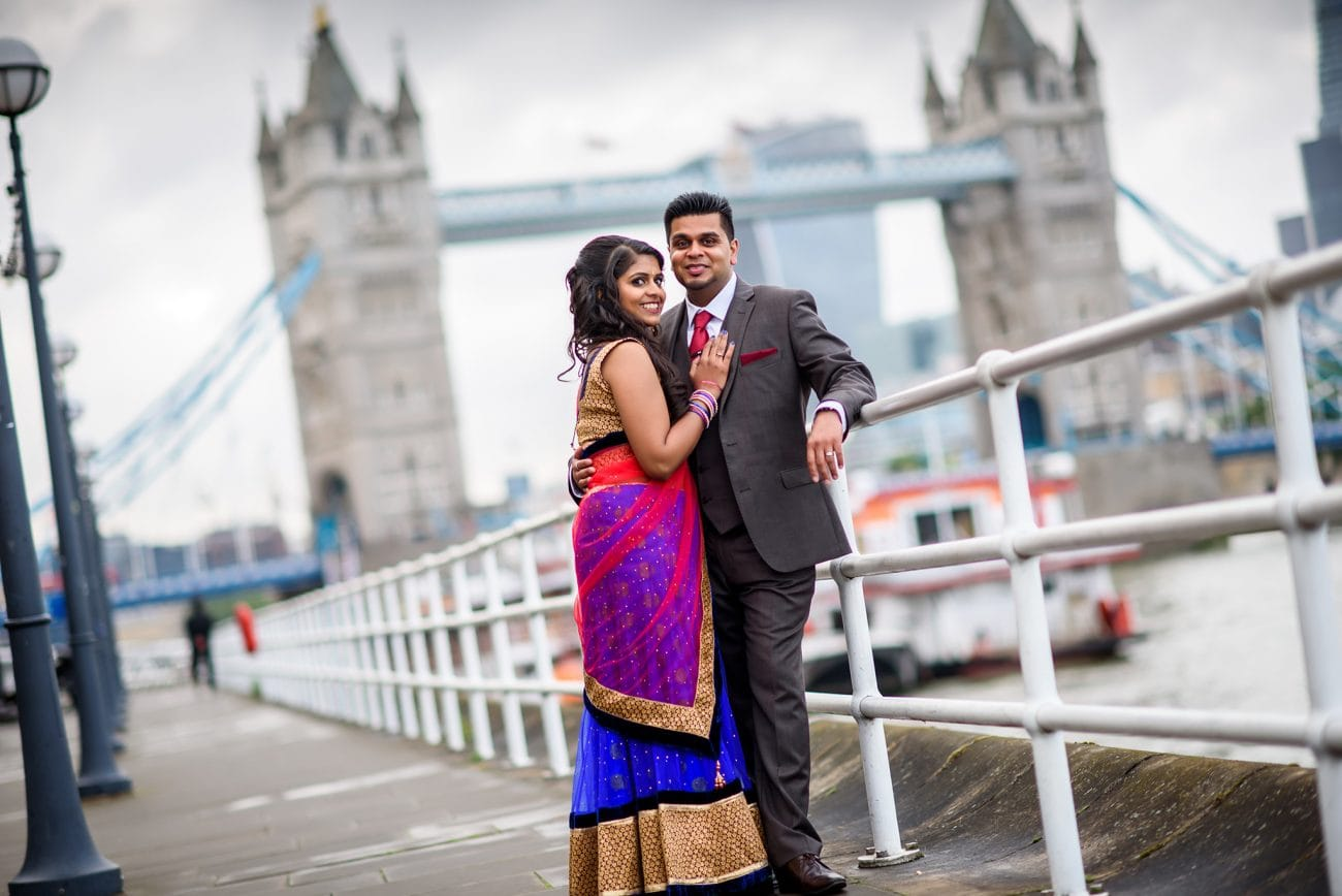 London hindu engagement photography