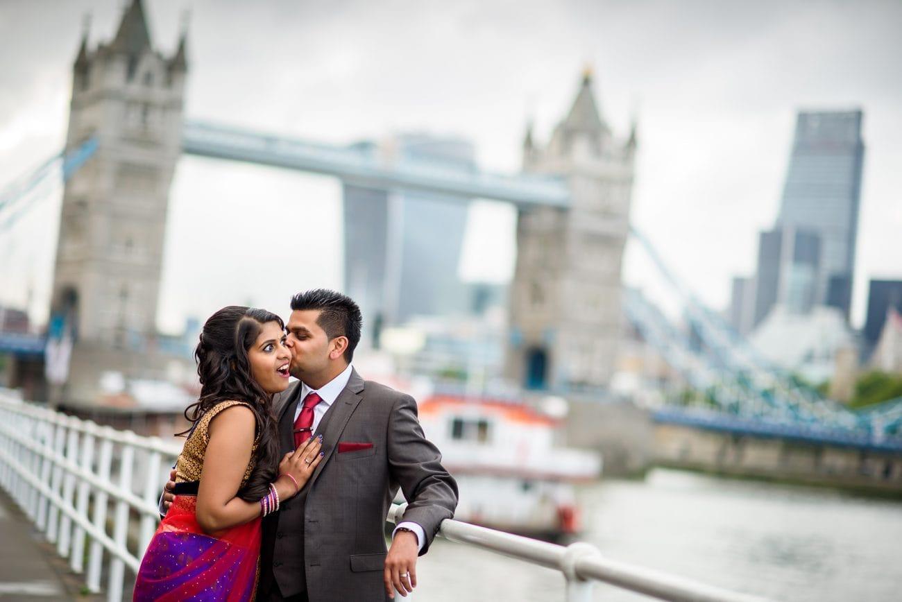 London hindu engagement photography