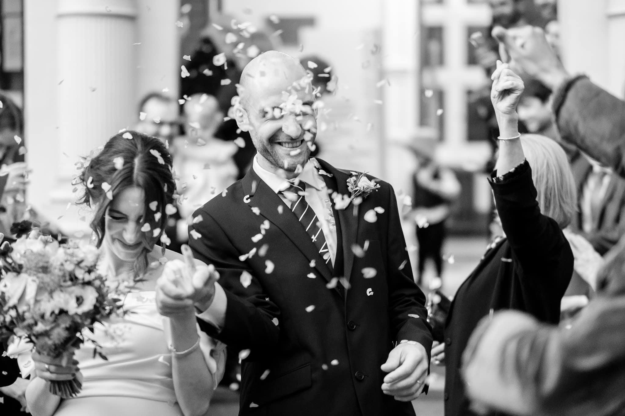 Mayfair library wedding photography