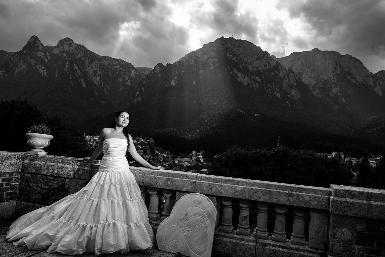 Mountain wedding photography