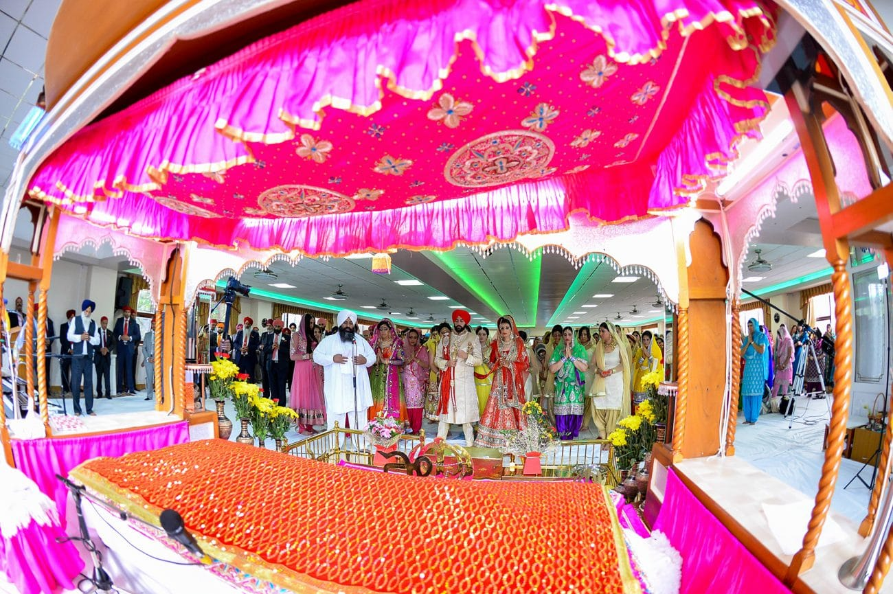 Nanaksar gurdwara wedding photographer