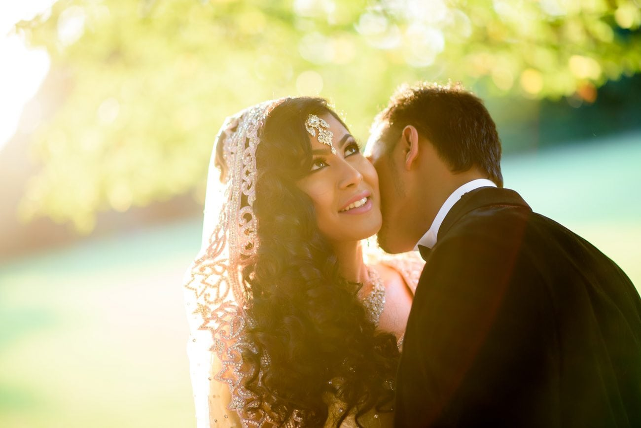 Muslim Wedding couple portraits