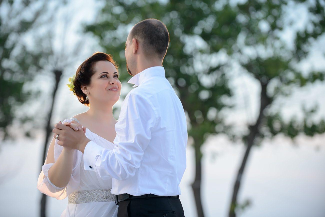 Seaside wedding photography