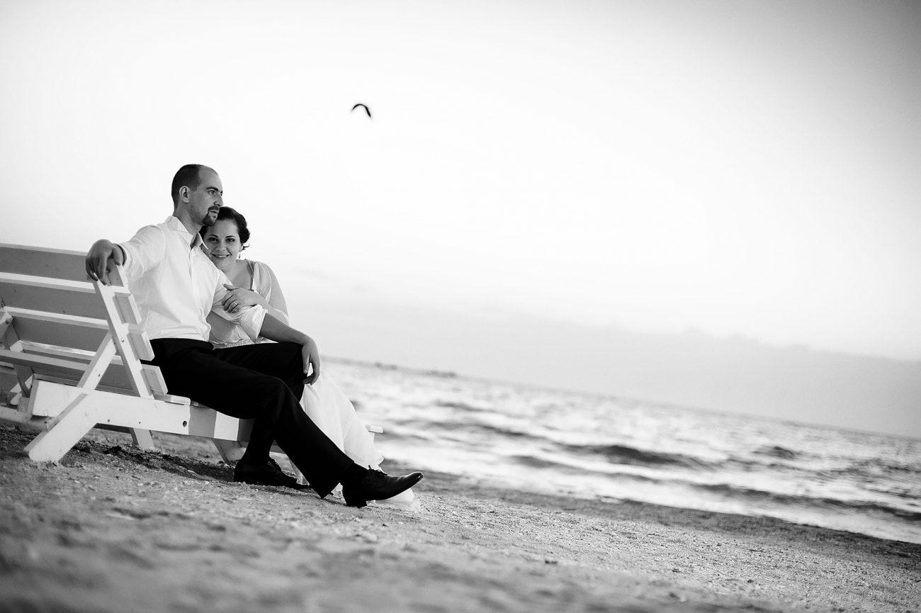 Seaside Wedding couple shoot