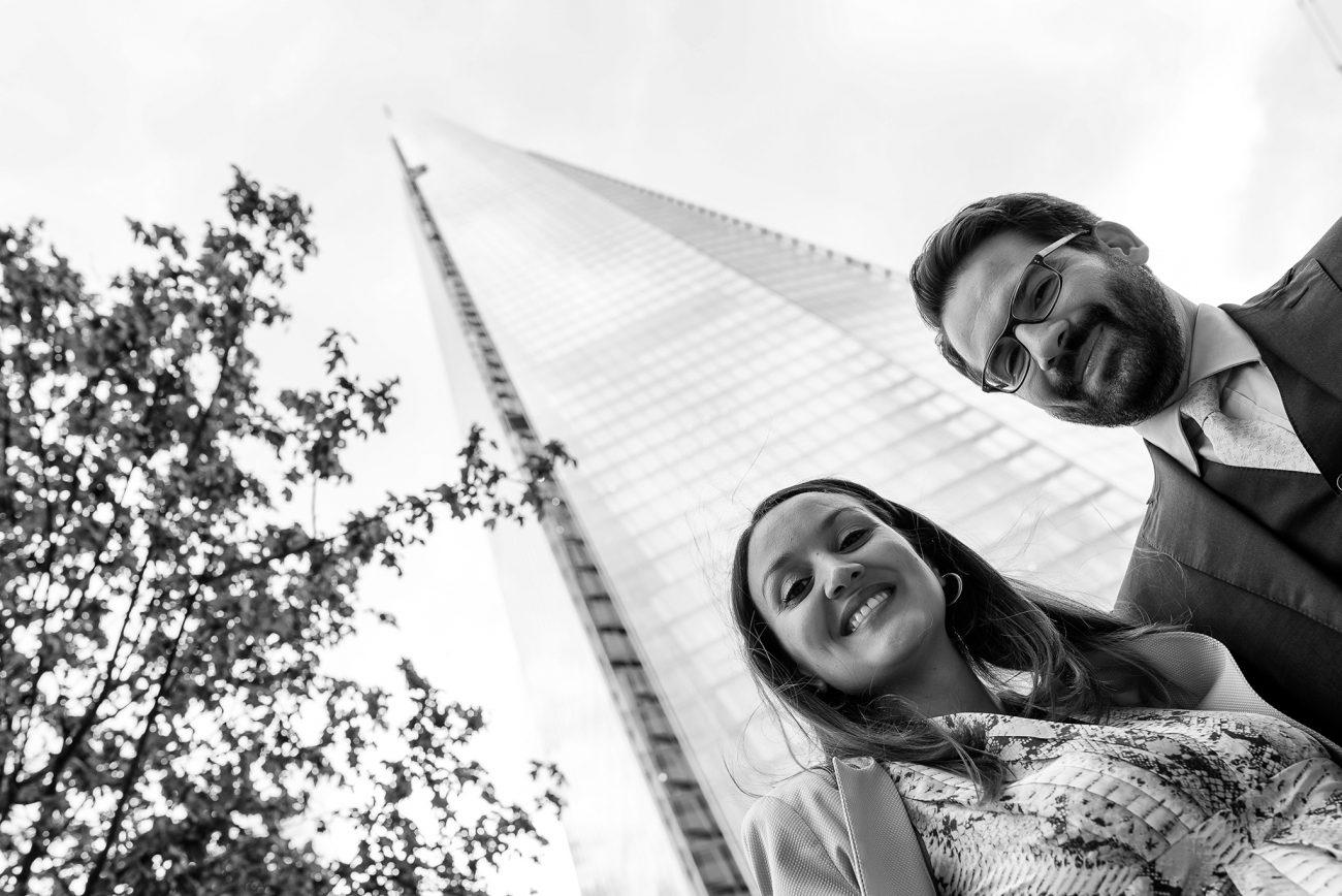 Shard wedding photographer