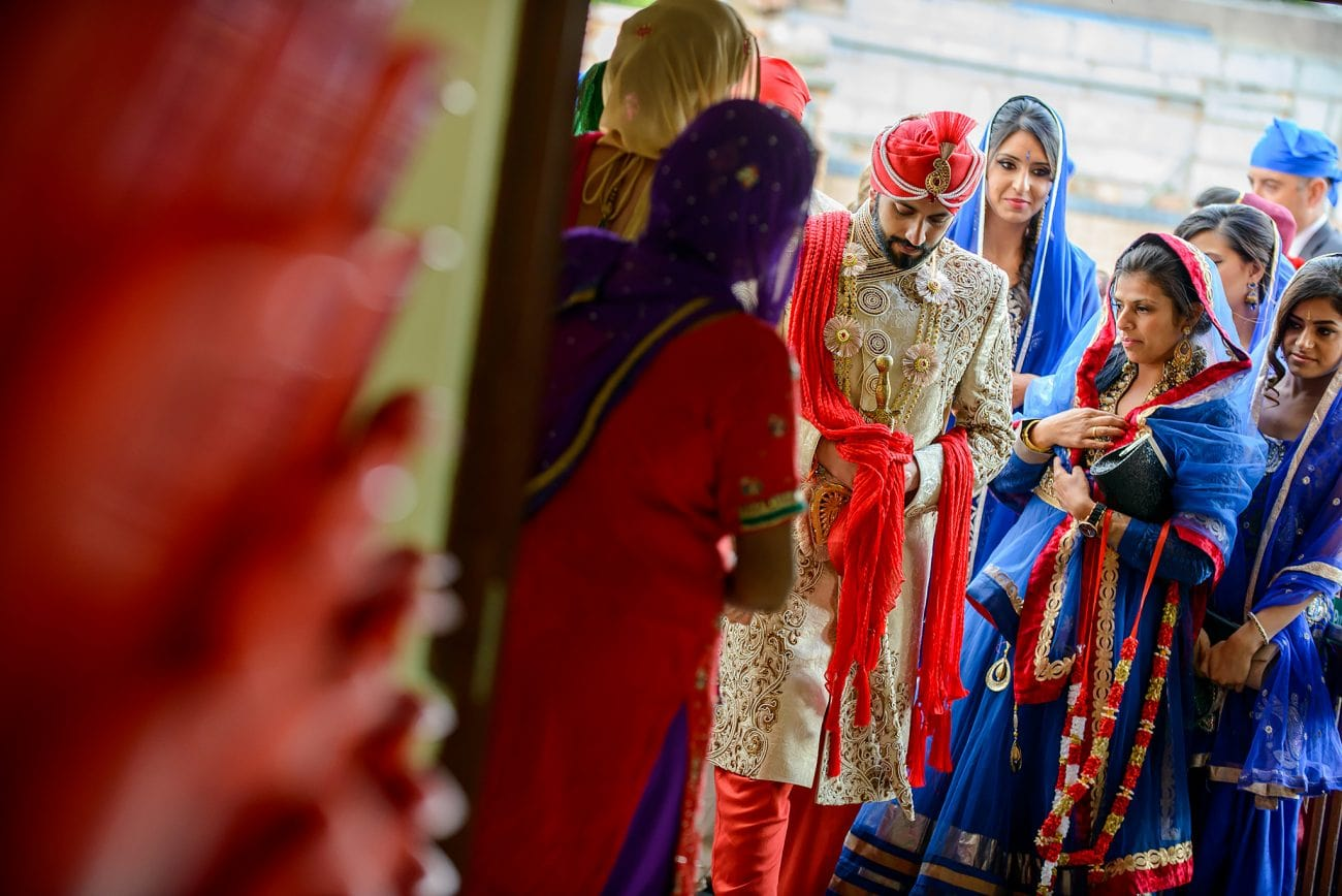 Sikh hertfordshire wedding photography