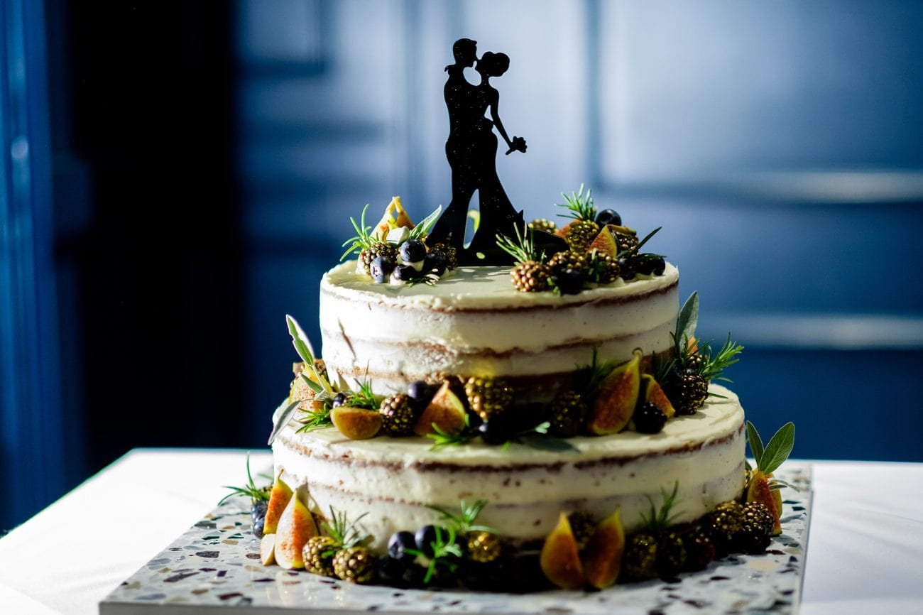 Soho wedding cake