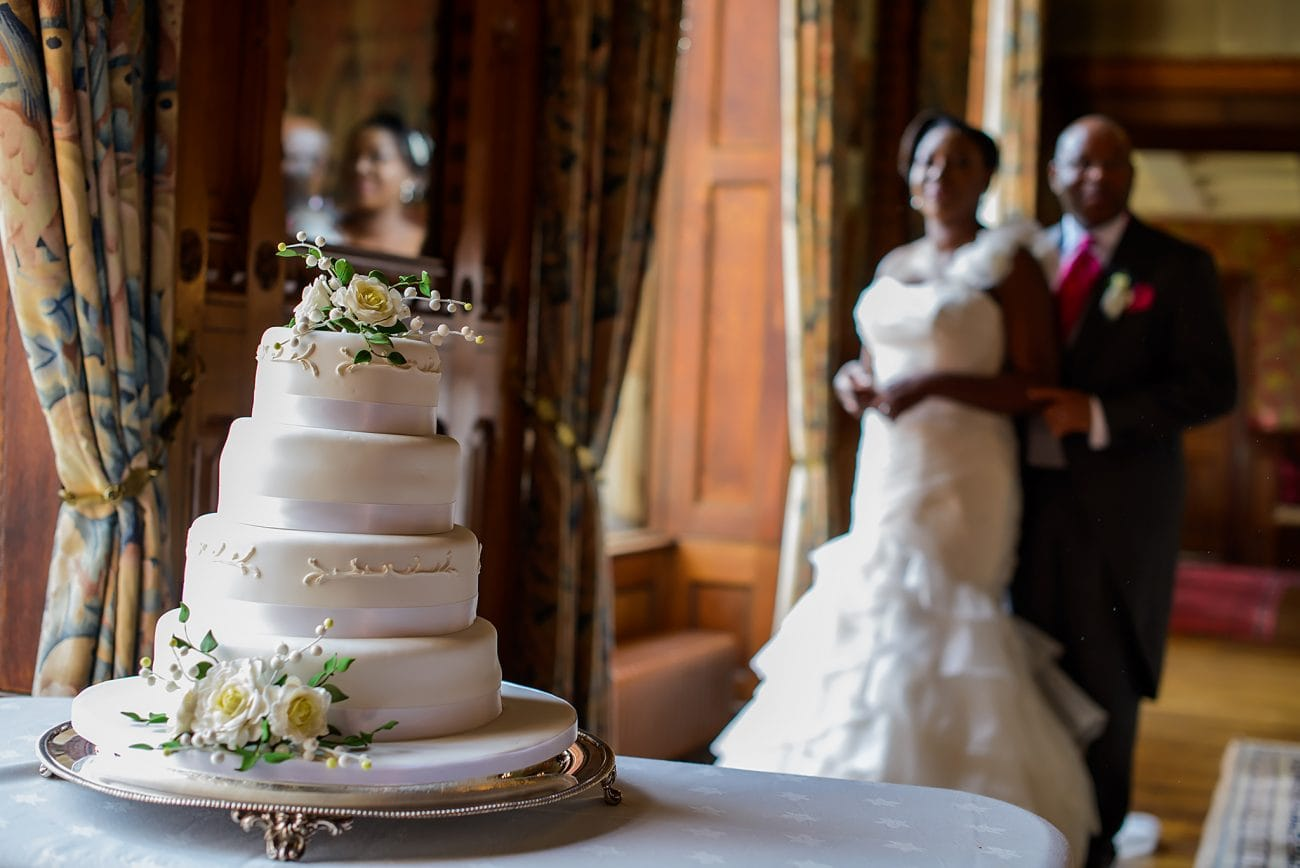 Soughton hall wedding cake