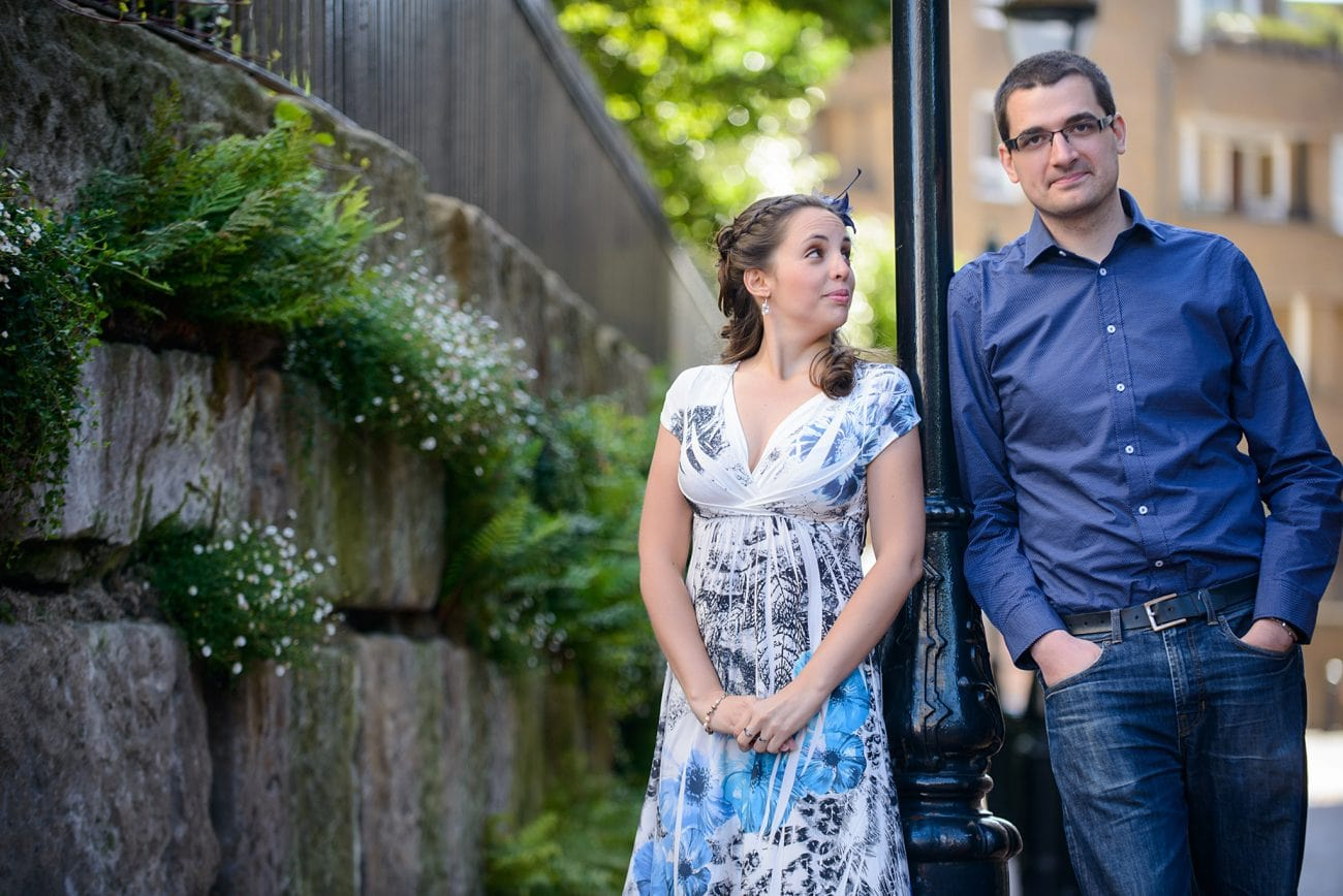 St katharine docks engagement photography