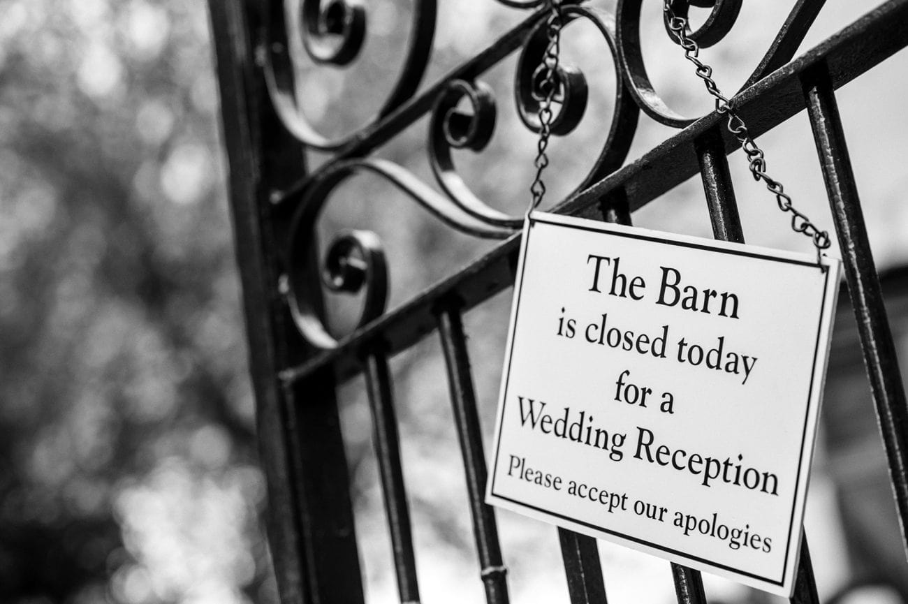 The barn wedding photographer