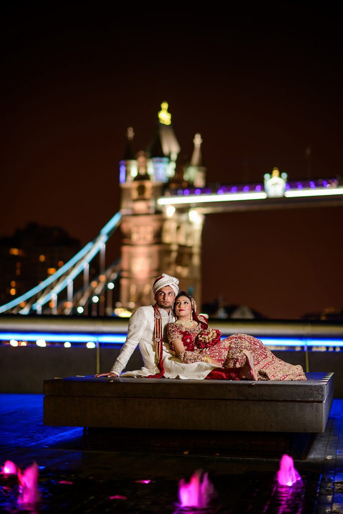 Tower bridge muslim wedding photographer
