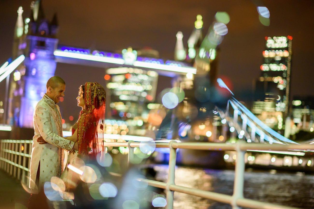 Tower bridge muslim wedding photography