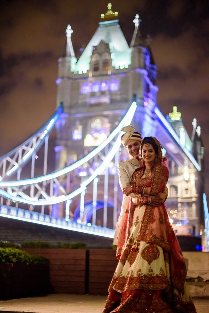 Tower bridge muslim wedding photography