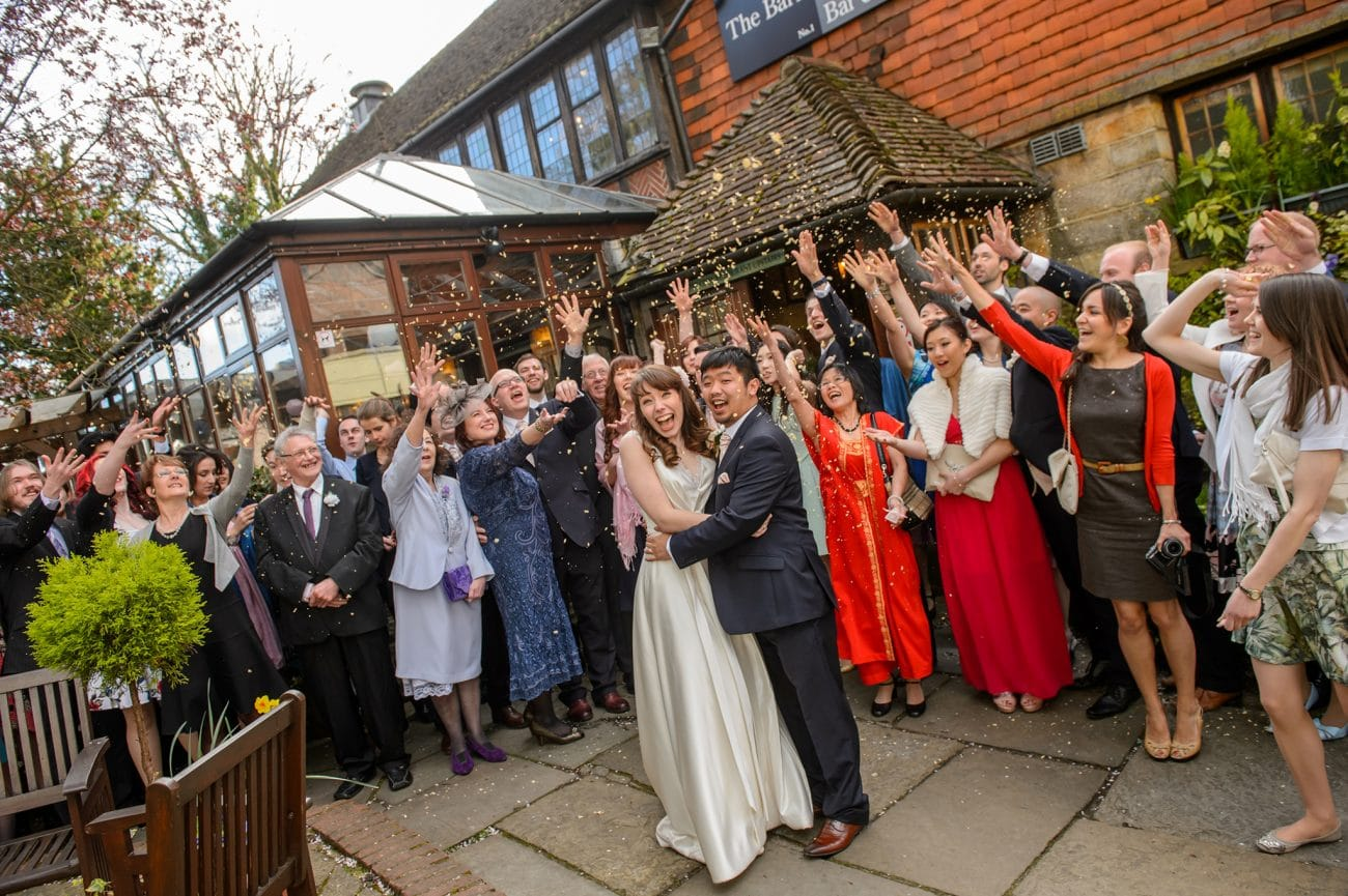 Tunbridge wells the barn wedding photographer