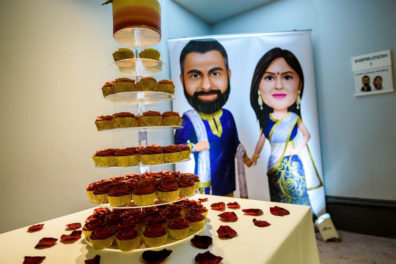 Village hotel watford wedding cake