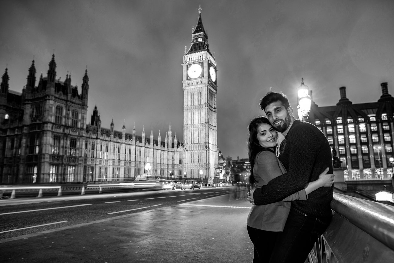 Big ben engagement photos