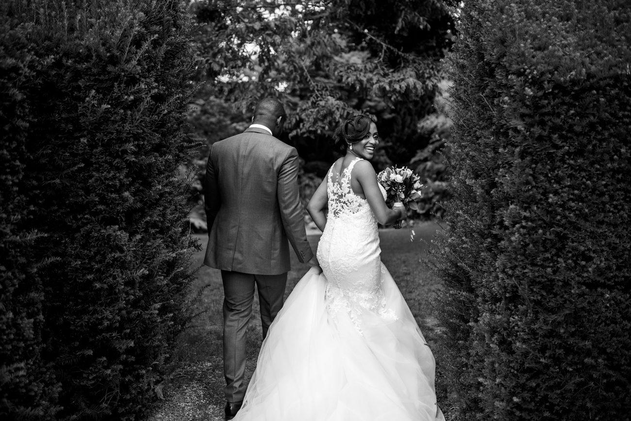 Capel manor gardens wedding photo session