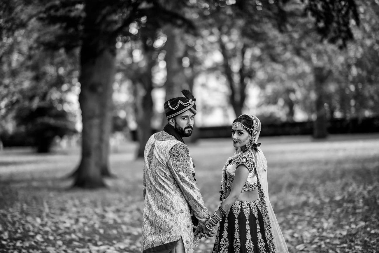 Green park hindu wedding photography