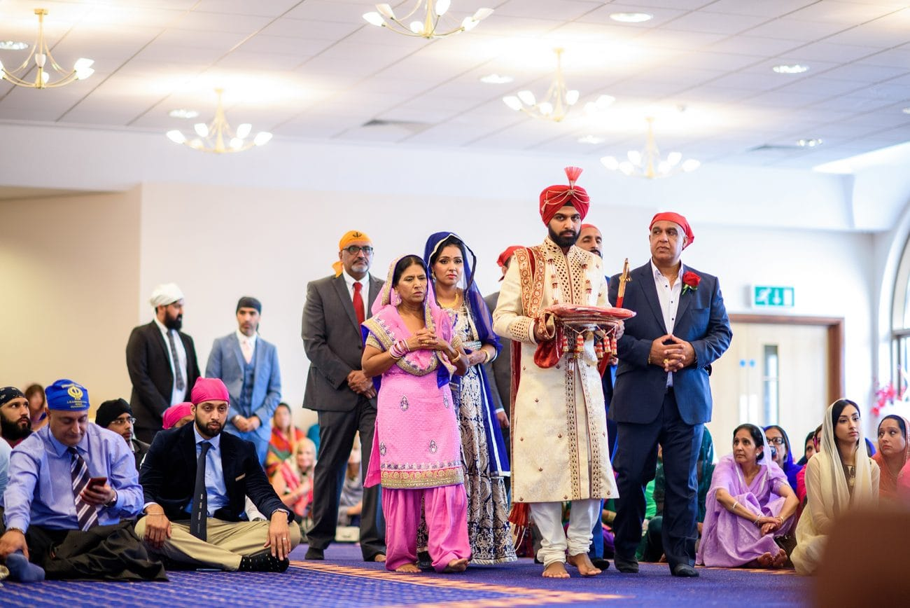 Gurdwara sahib leamington warwick wedding photographer