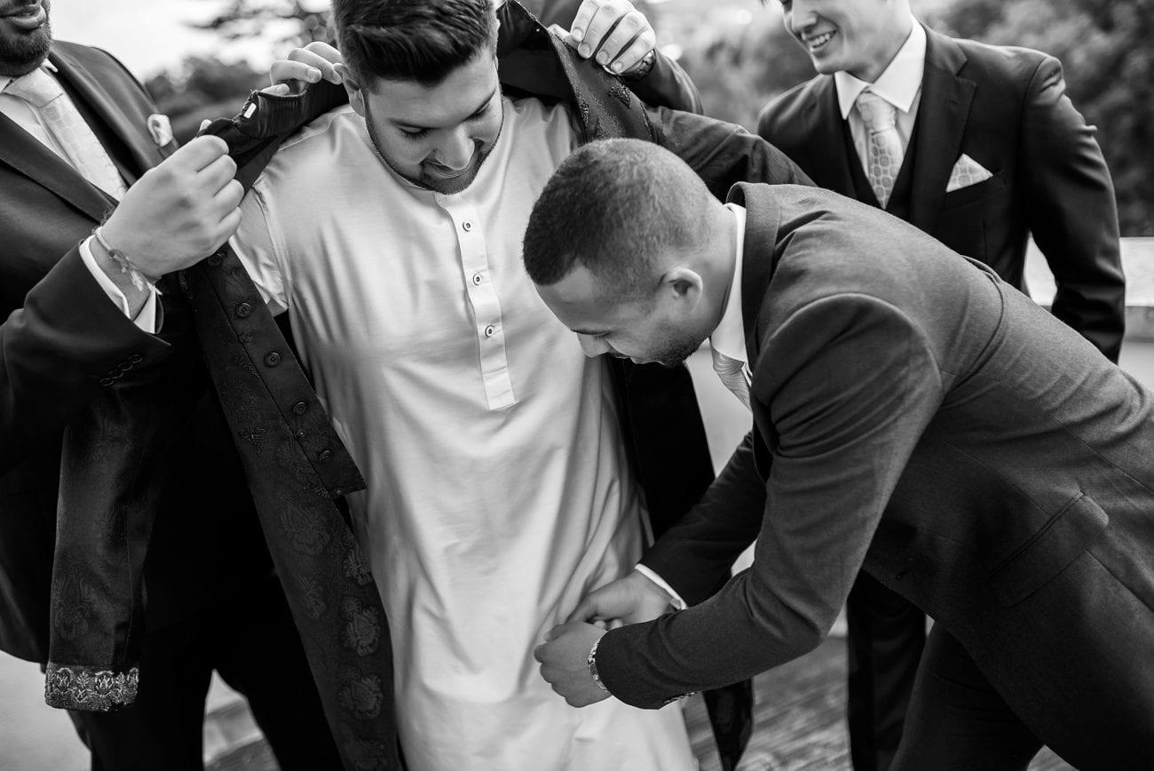 Harrow wedding getting ready photography