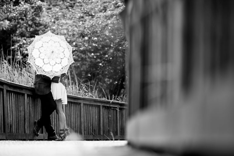 Holland park engagement photographer