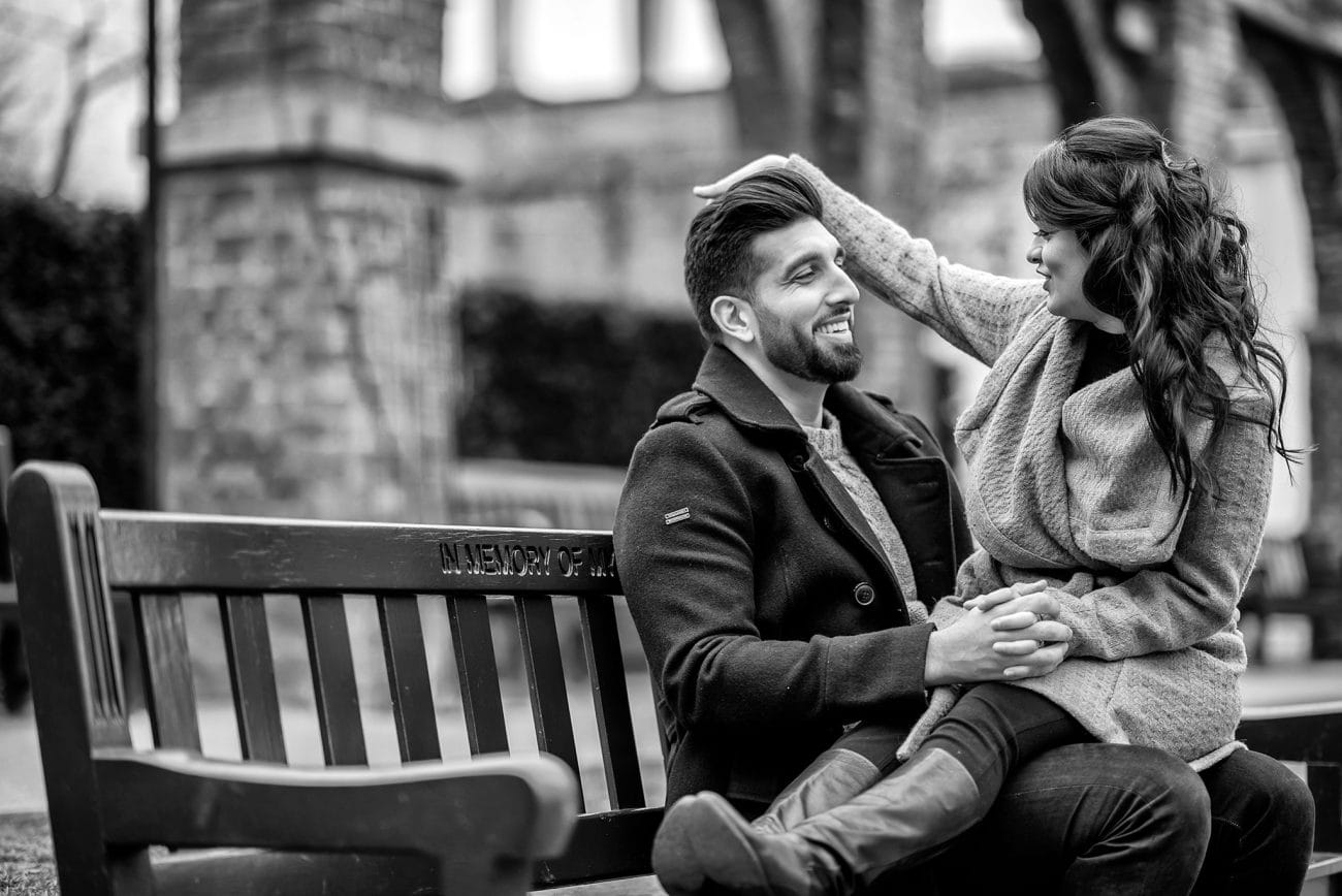 Holland park engagement photos