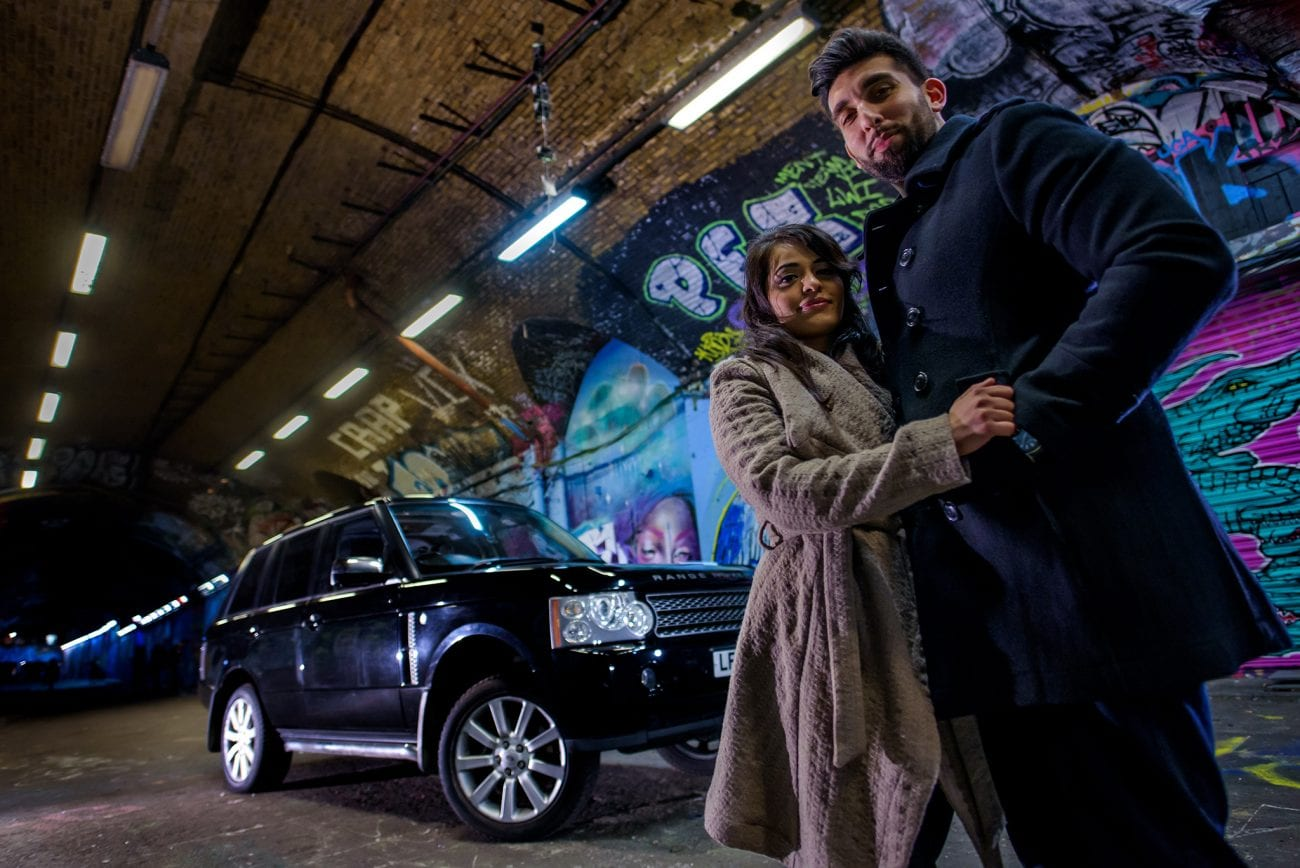 Leake street engagement photos