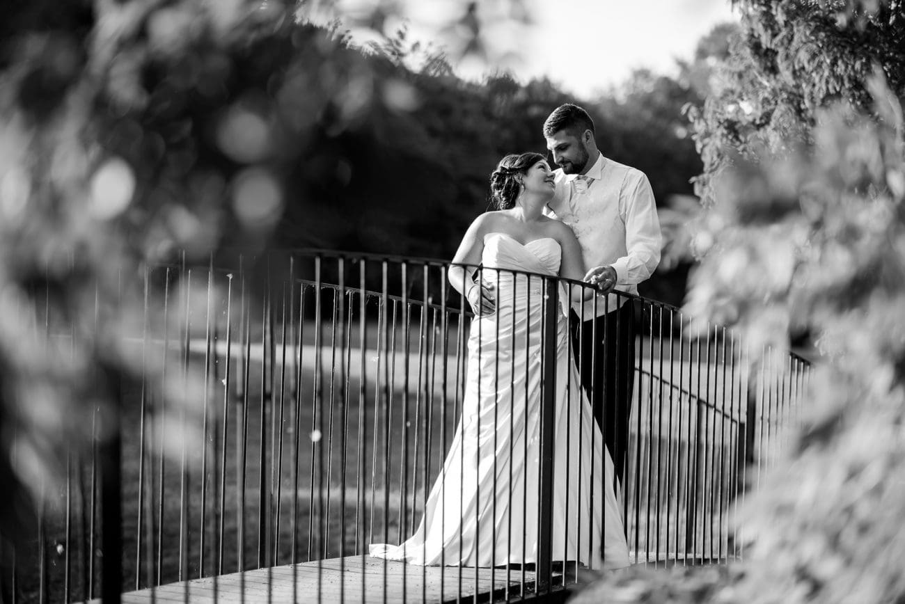 Maylands golf club essex wedding couple portraits
