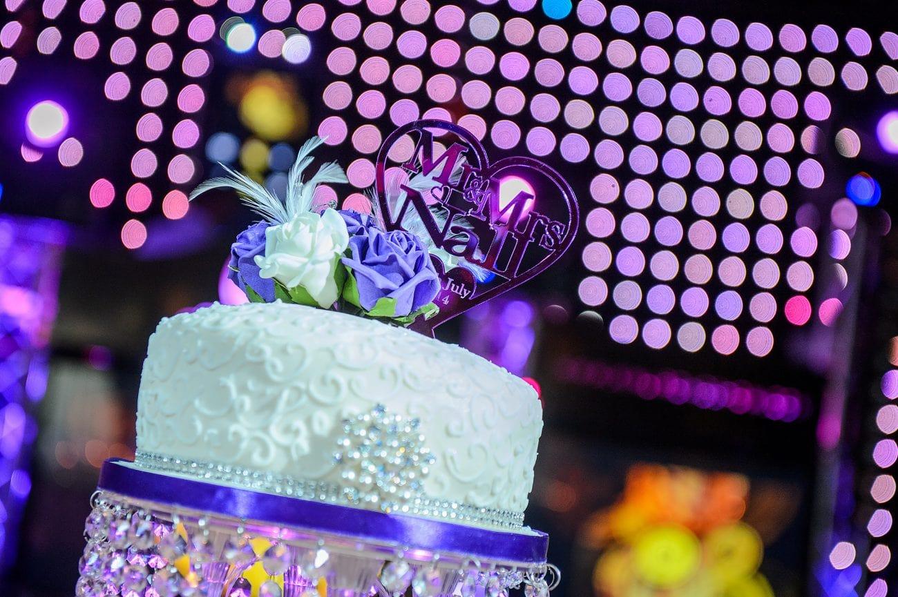 Sikh herfordshire wedding cake