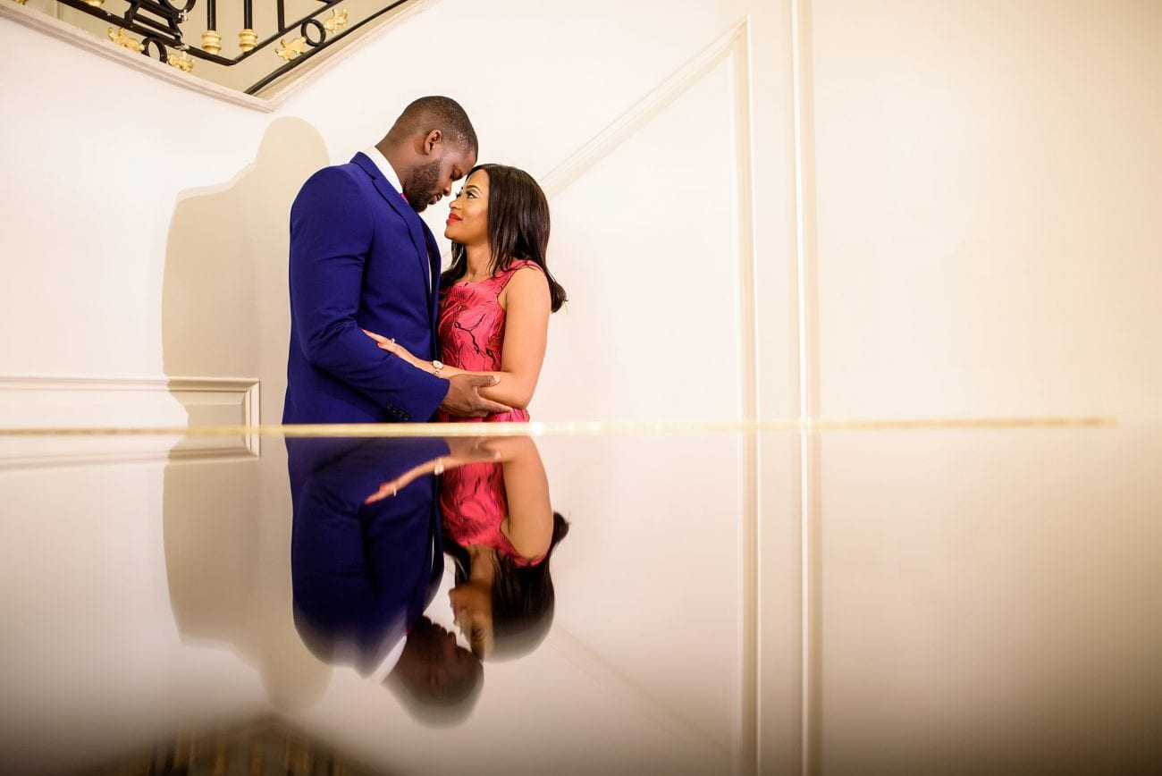 The bentley hotel wedding couple portraits