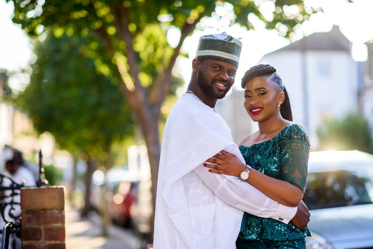 Traditional nigerian wedding photo session